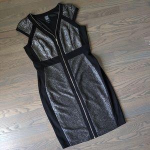 Stunning JAX Metallic Dress! 🍸